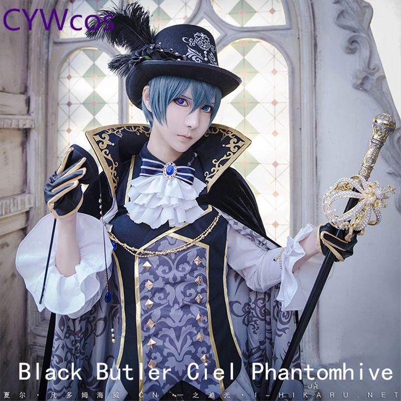 Anime Cosplay Black Butler Ciel Phantomhive Den Traum von 100 Sonne Wecken Cosplay Halloween Outfits Kostüm