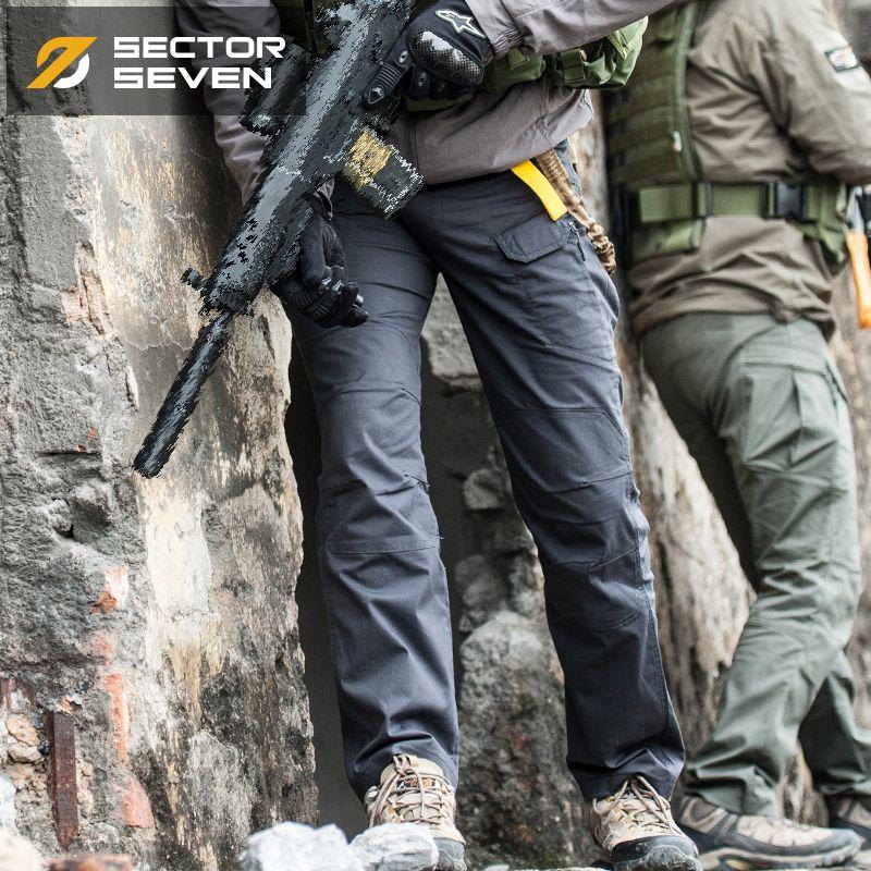 IX9 Imperméable Jeu de Guerre tactique pantalon Cargo pour hommes mince Pantalons Décontractés pour hommes pantalon de Combat SWAT Armée militaire Actif