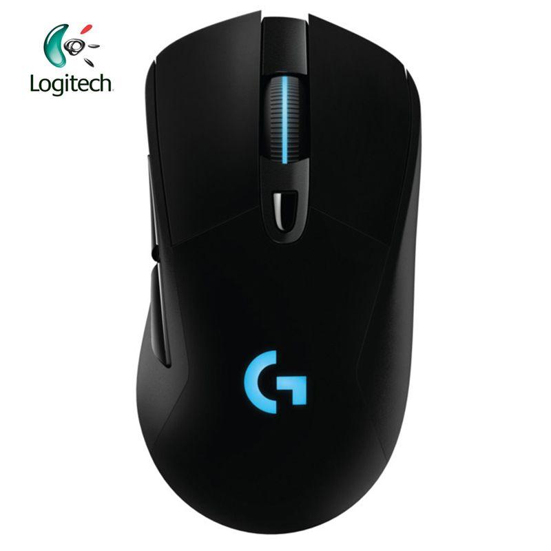 Logitech G703 2,4 ghz Wireless Gaming Maus mit RGB für PC Laptop Echte 12000 dpi Optische Ergonomische Offizielle Agentur Test