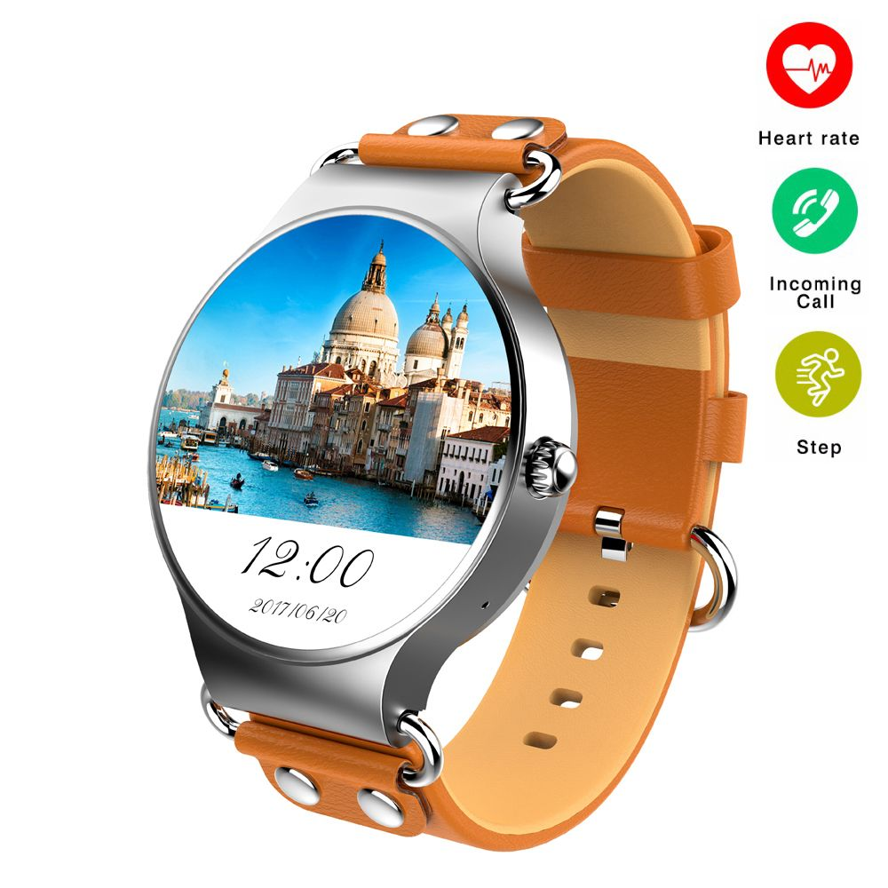 Smart Watch Android 5.1 3G WIFI GPS Watch KW98 Smartwatch Heart Rate Monitor Pedometer for Xiaomi PK KW88 KW99 Life Waterproof