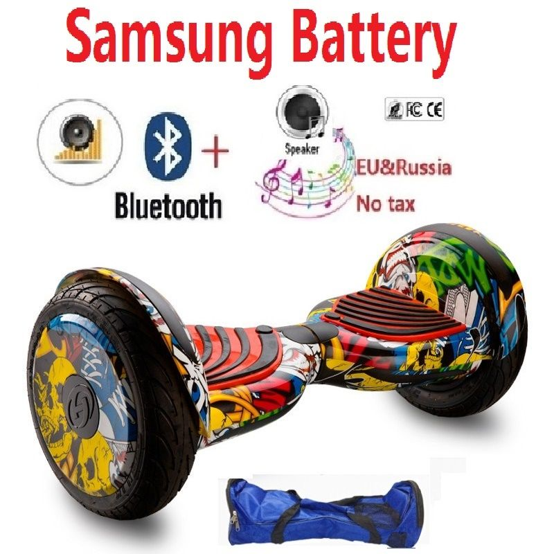 10 inch LDE Hoverboard Smart Skateboard Electric Scooters Standing Smart Self balancing Two Wheel selectric Overboard for adult