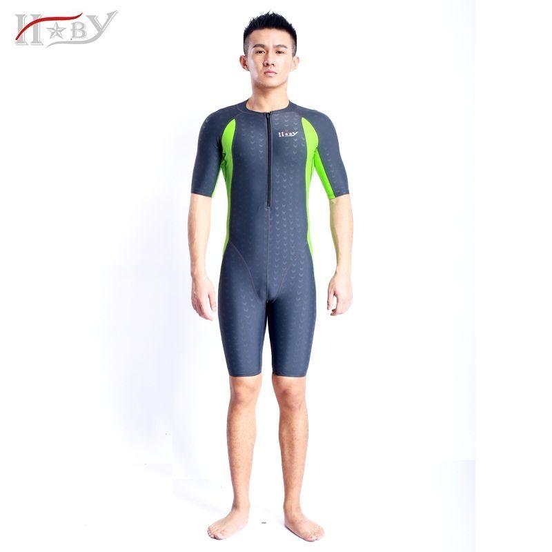 HXBY badeanzug wettbewerb badeanzüge knielangen männliche badebekleidung frauen arena schwimmen konkurrenzfähiger plus größe rennanzug shark 2016