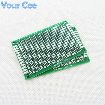 5 pcs 4X6 cm DIY Prototype Papier PCB Universal Circuit Carte de Circuit Circuit Imprimé Double Side 1.6mm 2.54mm En Fiber De Verre