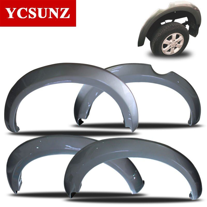 2006-2014 For Mitsubishi Triton Fender Flare ABS Fender Flares For Mitsubishi L200 Car Styling Mudguard Accessories Ycsunz