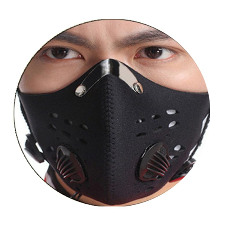 Hot Sale Black Anti-fog Dust Mountain Bike Bicycle Cycling Outdoor Sports Activated Carbon Dust Mask for men/women
