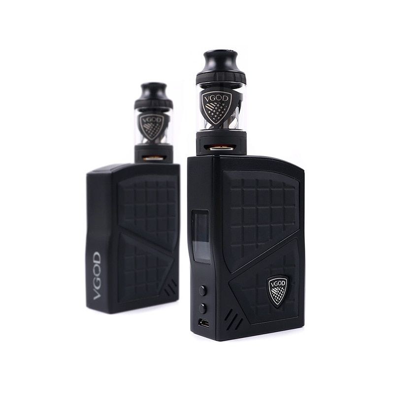 D'origine VGOD Pro 200 Boîte kit Mod TC Vaporisateur Mod 200 w 4 ml VGOD Sous ohm réservoir Atomiseur Cigarettes Électroniques 0.2ohm Bobine Vaporisateur