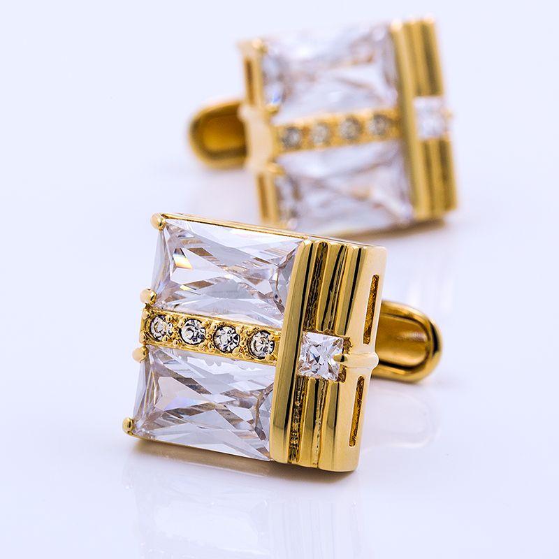 KFLK jewelry for men's brand of high quality shirts cufflinks gold cufflinks fashion wedding gift button free shipping