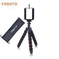 Fosoto Мини Осьминог Гибкий штатив цифровой Камера мобильного телефона Портативный стенд Gorillapod Тип монопод для IPhone X 7 8