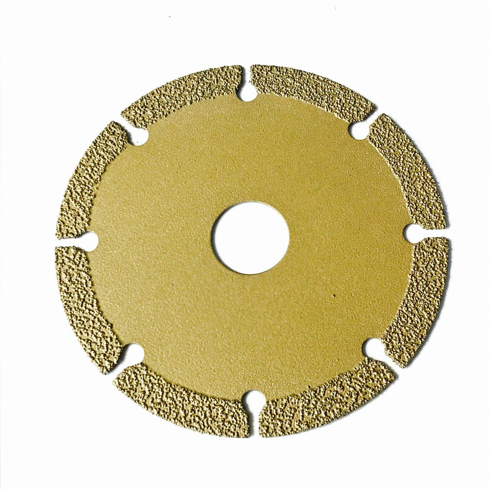 Free shipping new technology brazed super quality dry cutting diamond saw blade 110*20*1.5 for granite marble tile cutting
