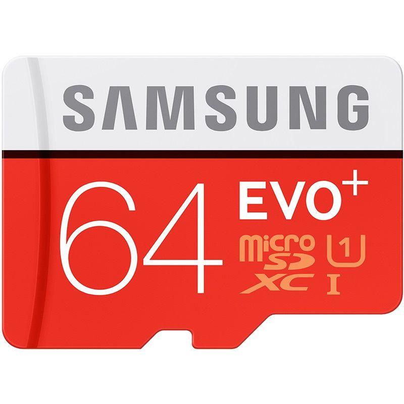 SAMSUNG EVO + Micro SD 32G Class10 de Tarjeta de Memoria SDHC 80 MB/S Grado C10 UHS-I TF/SD Tarjetas Trans Flash SDXC 64 GB 128 GB envío gratis