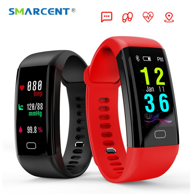 2018 NEW F07 Bluetooth Smart Band OLED Color screen Bracelet IP68 Waterproof Swim Heart Rate blood pressure monitor Smartband