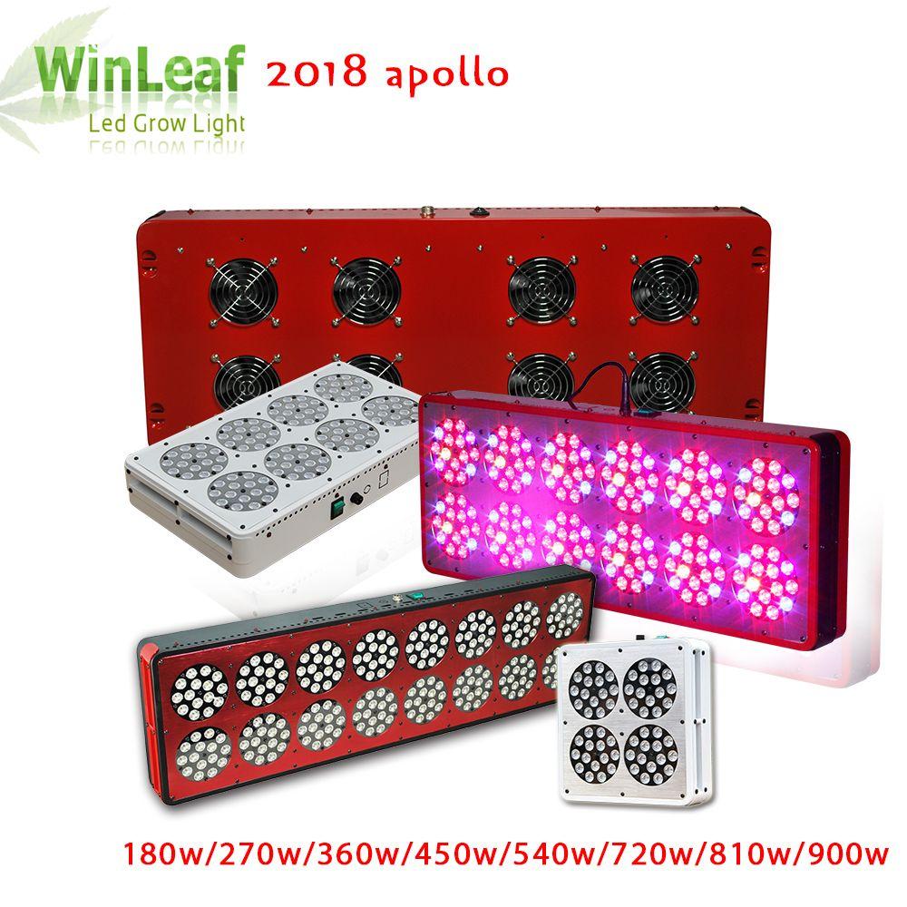 LED Grow Light Full Spectrum Apollo 4/6/8/10/12/16/18/20 180w/270w/360w/450w/540w/720w/810w/900w for Indoor Plant LED Grow Light
