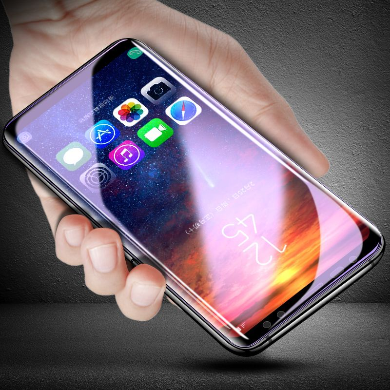 CHYI Hydrophilic fiilm for samsung galaxy s8 plus s7edge screen protector silicon 3D Repair scratche explosion-proof