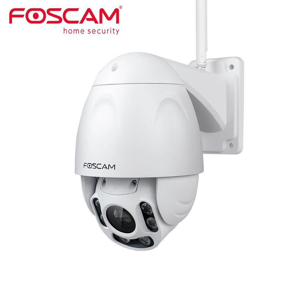 Foscam FI9928P Outdoor PTZ 4x Optical Zoom HD 1080P WiFi Security Camera Wireless IP Camera with Night Vision up to 196ft