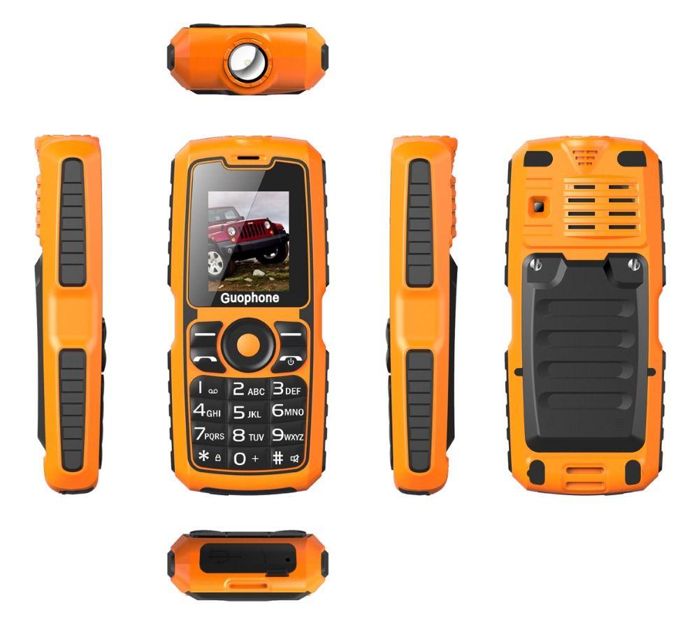 Original V3S IP67 Waterproof shockproof Dual SIM Card mobile phone 4000mAh battery FM flashlight can Russian keyboard cell phone