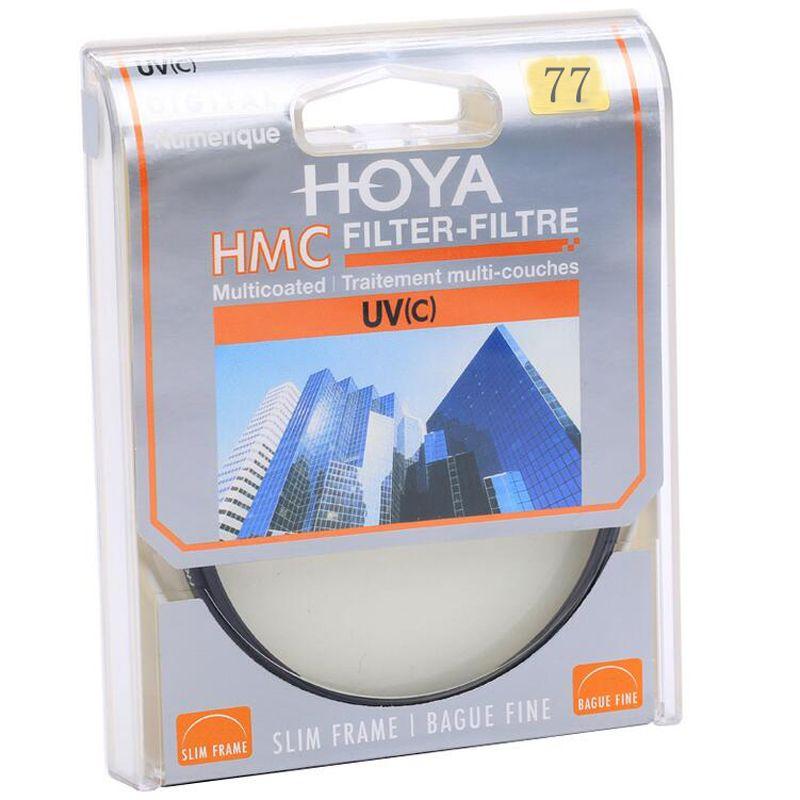 HOYA UV 77mm protecteur de lentille en verre optique Filtre ultraviolet HMC UV (C) Filtre d'objectif de caméra pour objectif de caméra reflex