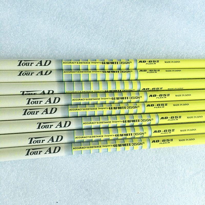 Nouveau hommes Cooyute Golf clubs arbre TOUR AD-65II fers de Golf arbre 9 pcs/lot Graphite Golf arbre R ou S ou SR Flex livraison gratuite