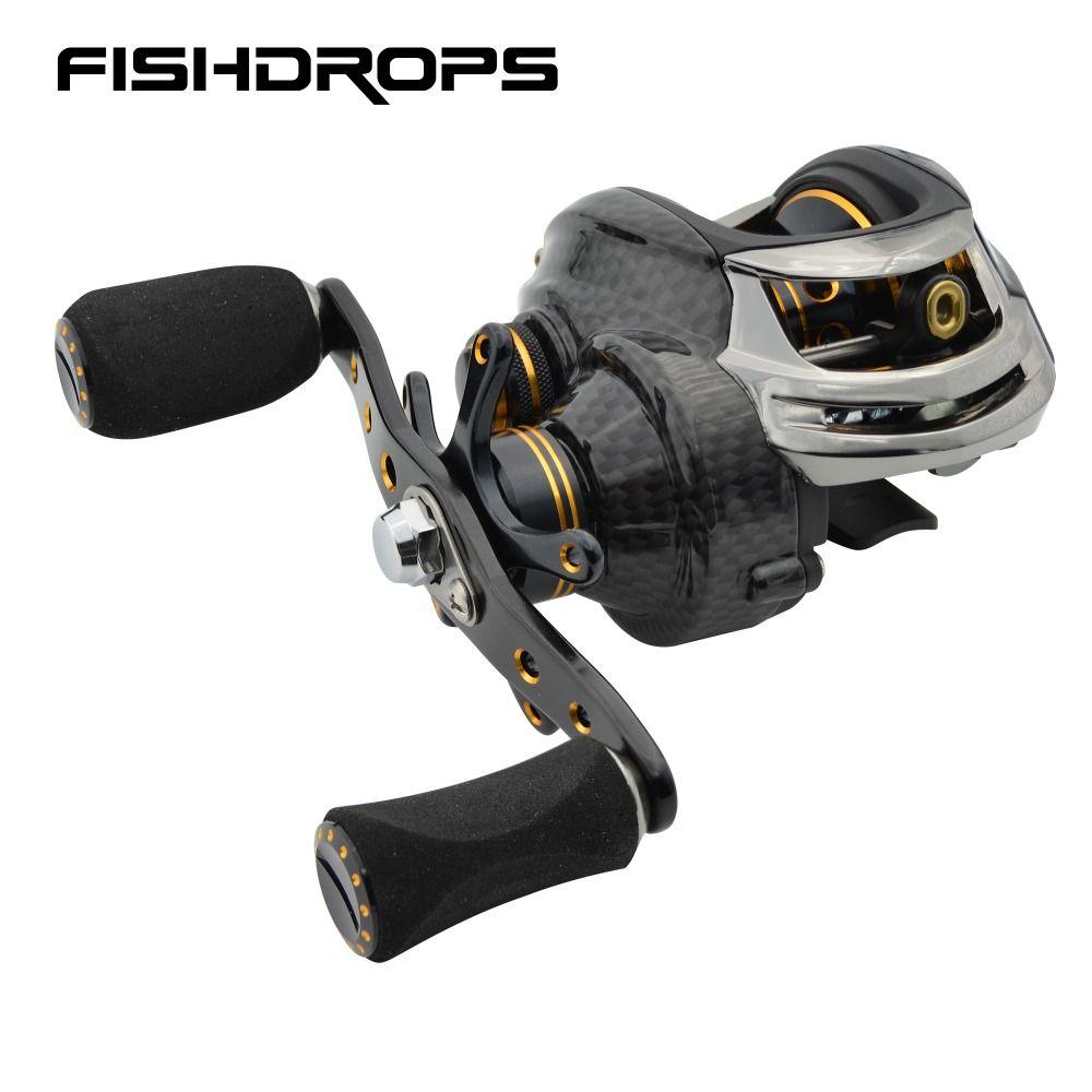 Fishidrops baitcasting fishing reel ocean baitcast 5.5KG Max drag fishing baitcaster reel