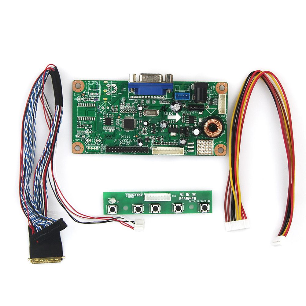 M. RT2270 LCD/LED Controller Driver Board (VGA) Für B089AW01 V.1 LVDS Monitor Wiederverwendung Laptop 1024x600