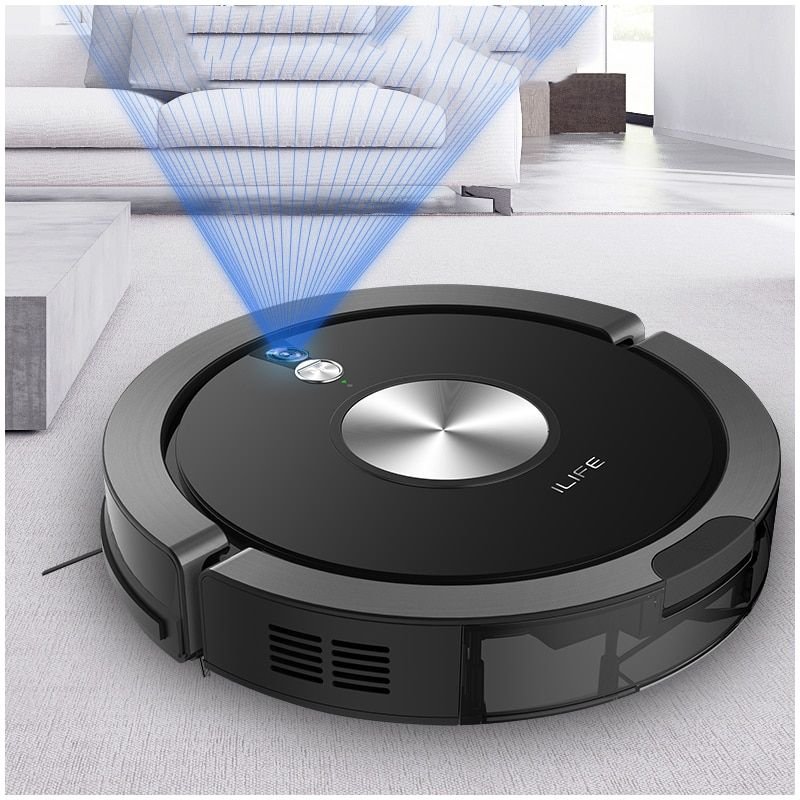 2018 NEW Arrival ILIFE X800 Robot Vacuum Cleaner for Home Dry Wet Water Tank motor Intelligent Cleaning ROBOT ASPIRADOR