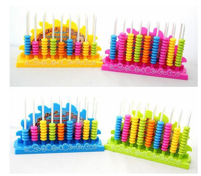 Math Toys , an abacus Multifunction Educational Supplies , Counter , Help your son learn counting