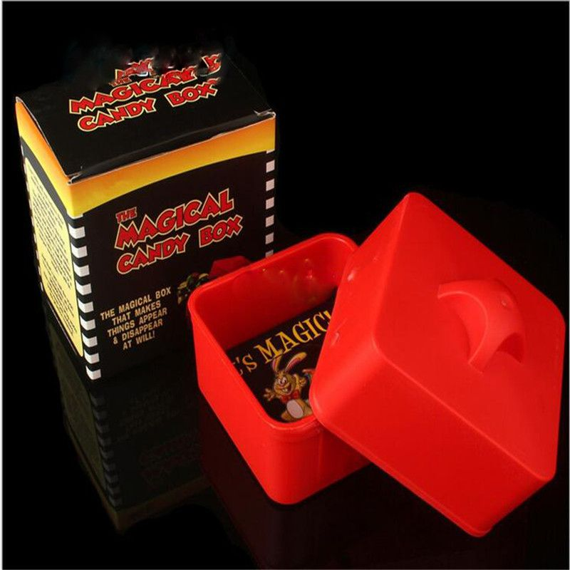 Bento meal box magical candy box objects from empty box magic tricks close up stage props accessary illusion magician magie83302