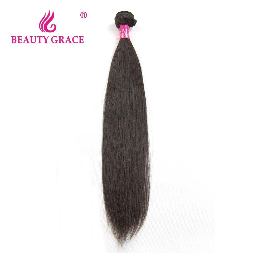 Brésilienne Droite Cheveux Humains Faisceaux D'armure de Cheveux Non Remy Brésiliens Cheveux Weave Bundles 30 pouce 32 pouce Bundles Offre Beauté grâce