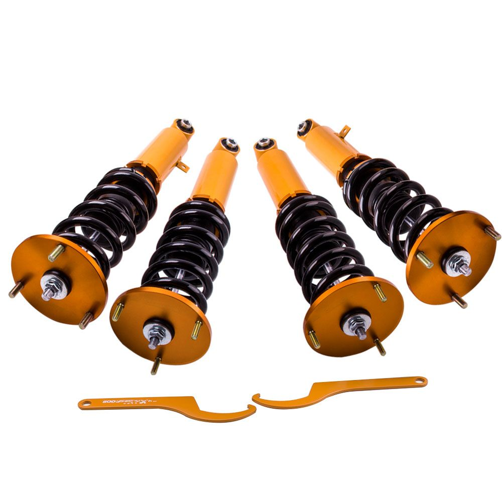 Height Adjustable Coilovers For Toyota Supra GA70 86-92 Shock Absobers Coilover Suspension Damper Force Top Mounts Suspension