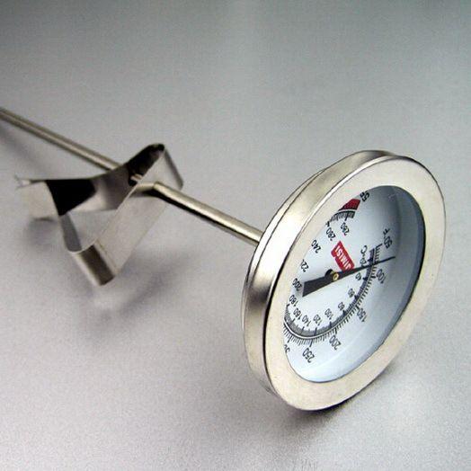 Sonde haken art fried thermometer mit clip haken suppe braten lebensmittel-thermometer