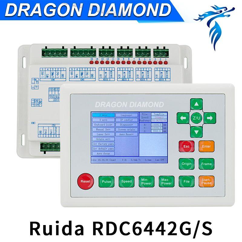 Ruida RD RDC6442G CO2 Laser DSP Controller Für Laser Gravur und Schneiden Maschine RDC 6442 gr/sek