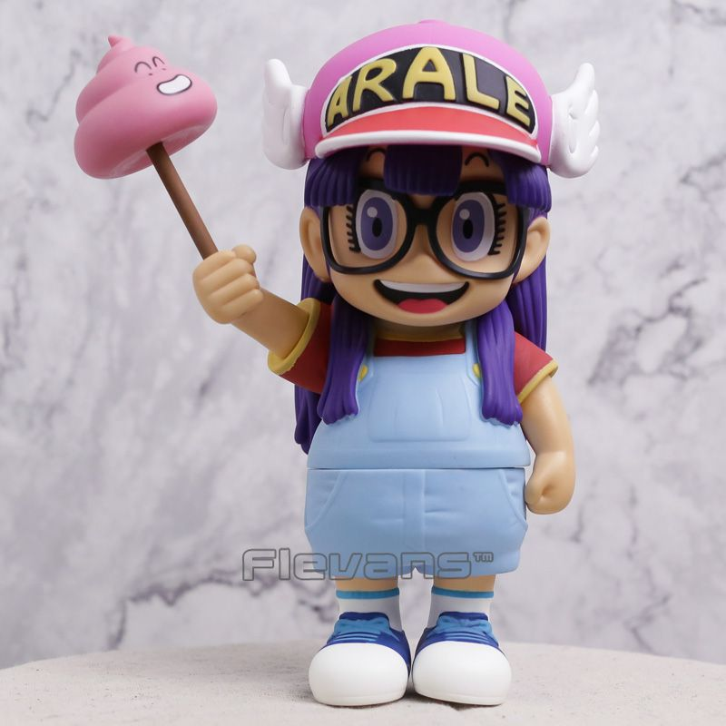 Anime Cartoon Dr.Slump Arale with Faeces PVC Action Figure Toy Doll Gift 20CM