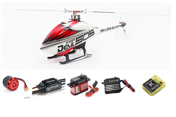 ALZRC Devil 505 FAST RC Helicopter Super Combo In store
