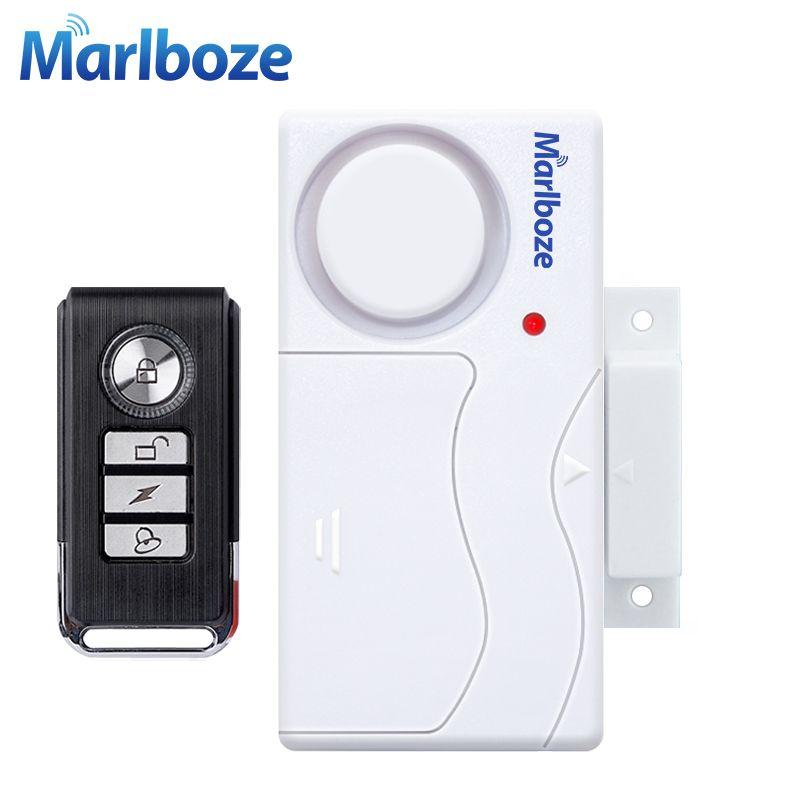 Puerta Ventana de Entrada de Seguridad ABS Sensor de Puerta de Control Remoto Inalámbrico Sistema de Alarma de Seguridad Antirrobo de Acogida De Alarma Hogar Kit de Protección