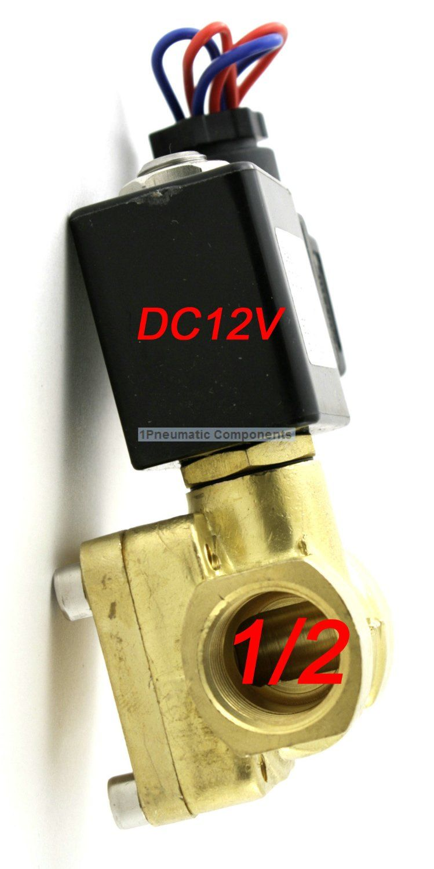 Hohe Qualität 1/2 ''230 PSI Elektrisches Magnetventil 12VDC Schließer Membranventil 0955305