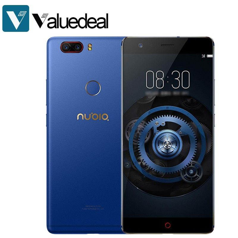 In stock Global Nubia Z17 <font><b>Lite</b></font> Android 7.1 5.5 Inch 4G LTE Smartphone 6GB 64GB 13.0MP Dual Rear Camera Octa Core phone