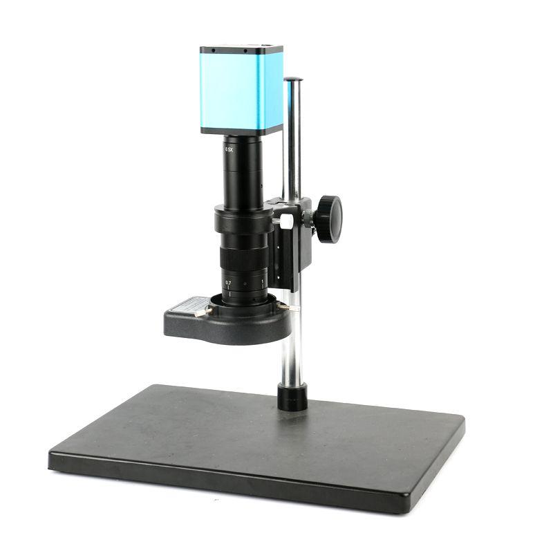 1080P 60FPS SONY SENSOR IMX290 HDMI USB Digital Mouse control Microscope Camera + 180X 300X Zoom Lens for Smartphone PCB Repair