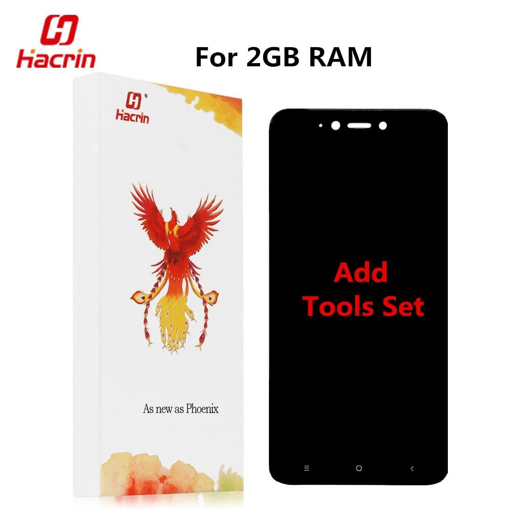 Pour Xiaomi Redmi Note 5A LCD Affichage à L'écran Tactile Digitizer Assemblée Remplacement Pour Redmi Y1 Lite 2 GB RAM Mondiale Version