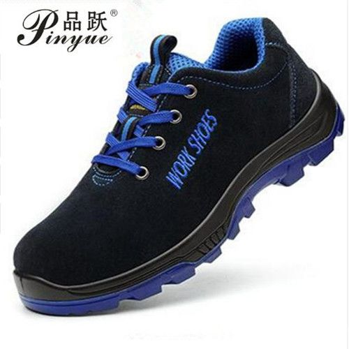 Men Work Safety Shoes Steel Toe Warm Breathable Men's Casual Boots Puncture Proof Labor Insurance Shoes Large size 35---50