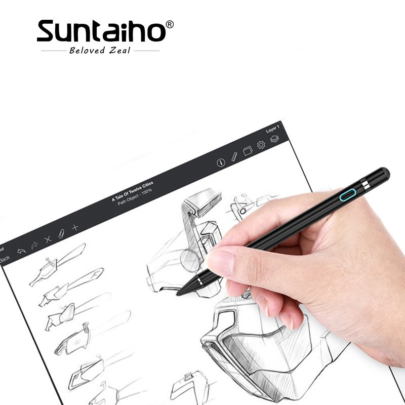 Suntaiho Tablet Pen for apple pencil new stylus capacitance touch Pencil For Apple iPad Pro for iPad 9.7 (2017) for iPad 1 2 3