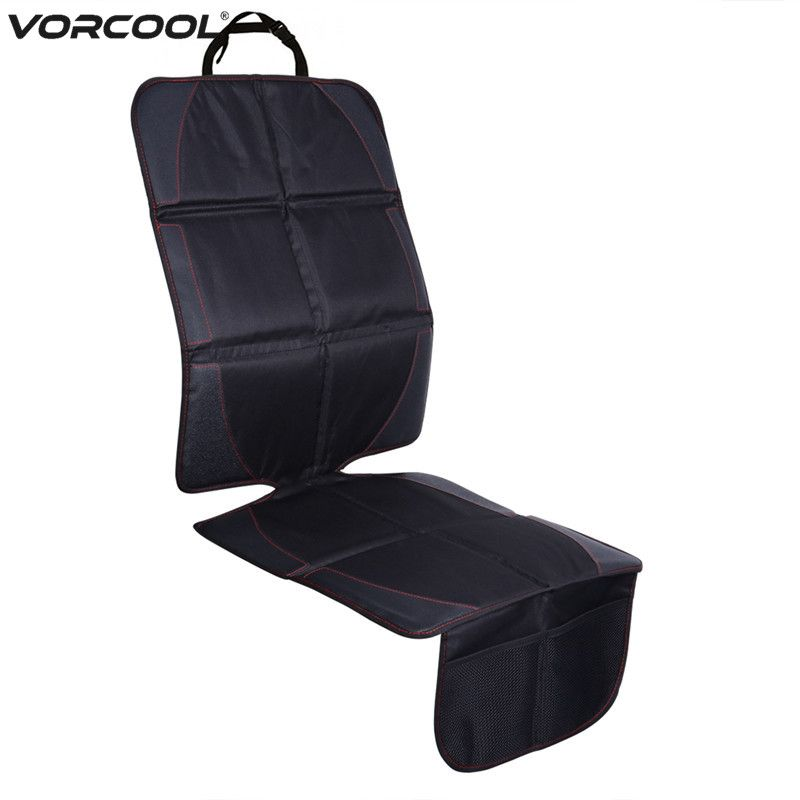 123*48cm Oxford Cotton Luxury Leather Car Seat Protector Child Baby Auto Seat Protector Mat Improved <font><b>Protection</b></font> For Car Seat