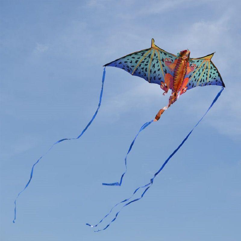 Enfants jouet cerfs-volants créatifs cascadeur cerf-volant Dragon volant avec ligne Sports de plein air cerf-volant volant pour adultes cadeau