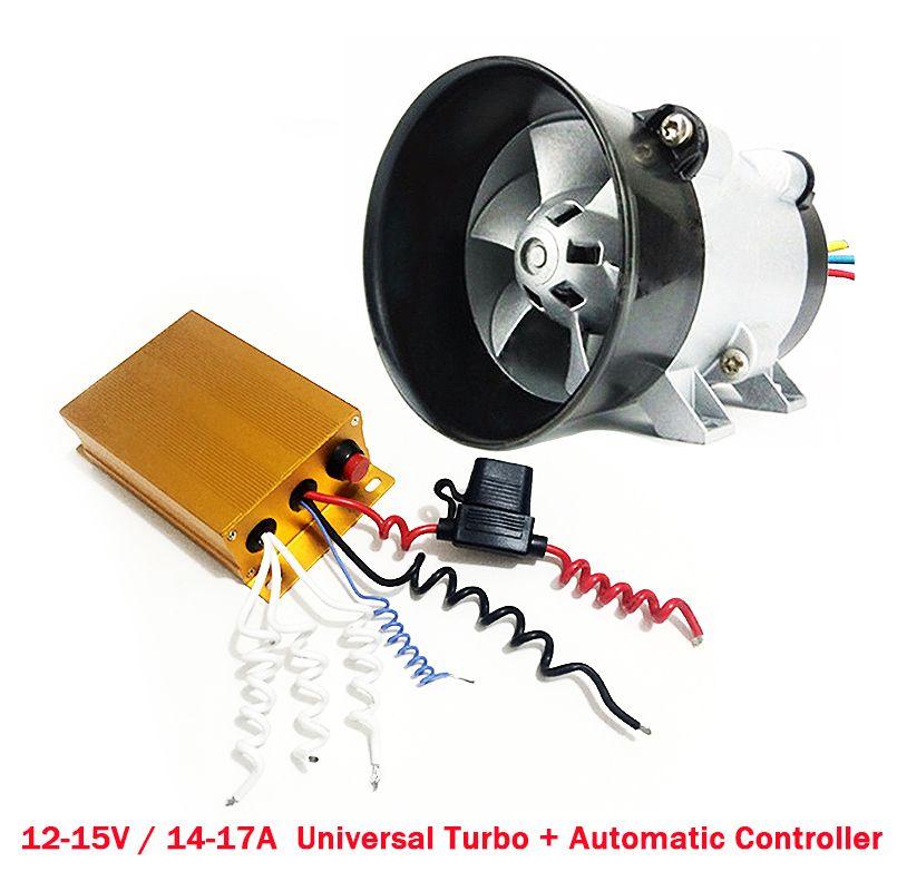 Универсальный Автомобильный Электрический турбины Каррегадор Turbo с автоматический регулятор 35000 об./мин. Turbo зарядное устройство максималь...