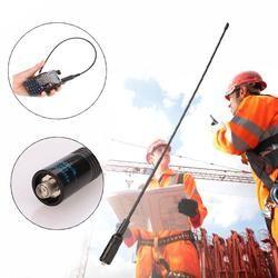 Cewaal SMA-F (Female) 144-430MHz Antenna for UV5R 888s TK3107 3207 for NA-771 Handheld Radios