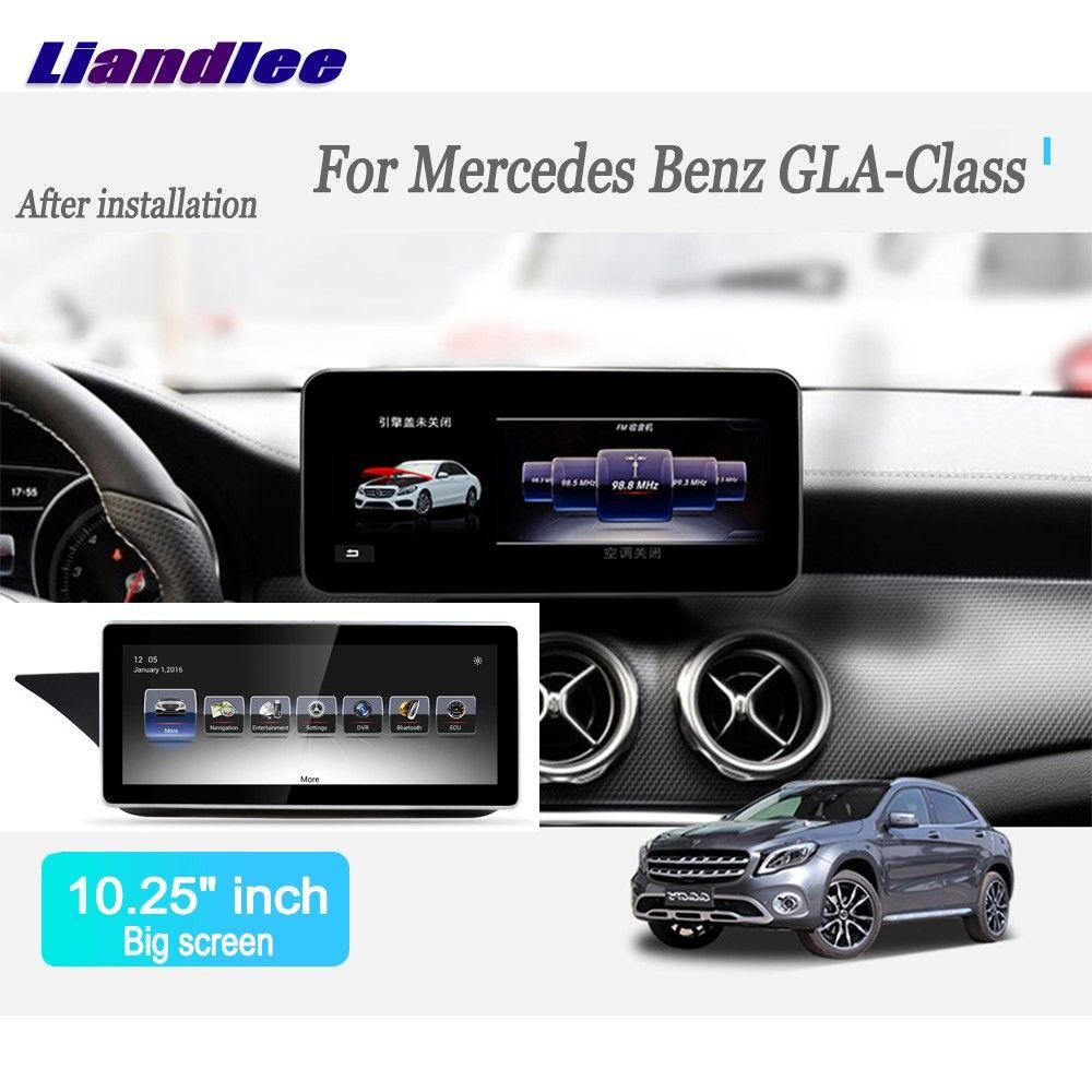Liandlee Android Car Radio For Mercedes Benz GLA Class 2016~2017 Player GPS Navi Navigation Maps Camera OBD TV Screen no cd dvd