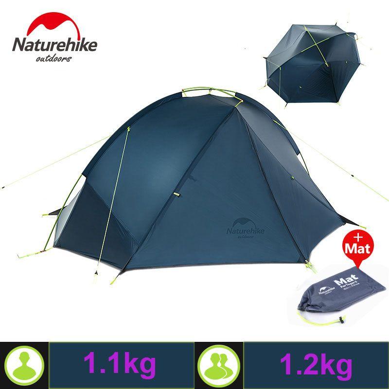Naturehike 20D Nylon Taga Outdoor-camping-zelt Ultraleicht Einem Schlafzimmer ein Mann Nur 1 kg Zwei Mann 1,2 kg Wasserdicht barraca tenda