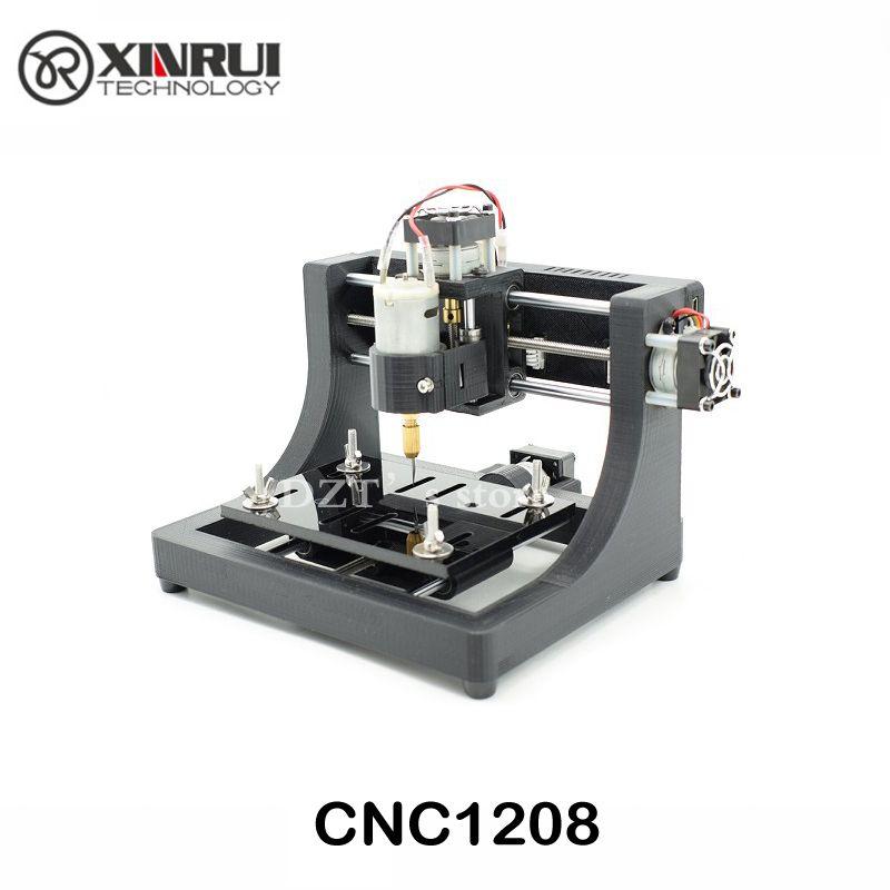 JEDI CNC1208 <font><b>super</b></font> mini hobby Machine 3 Axis Pcb Milling machine,mini Wood Router for learning & study best toy Assembled