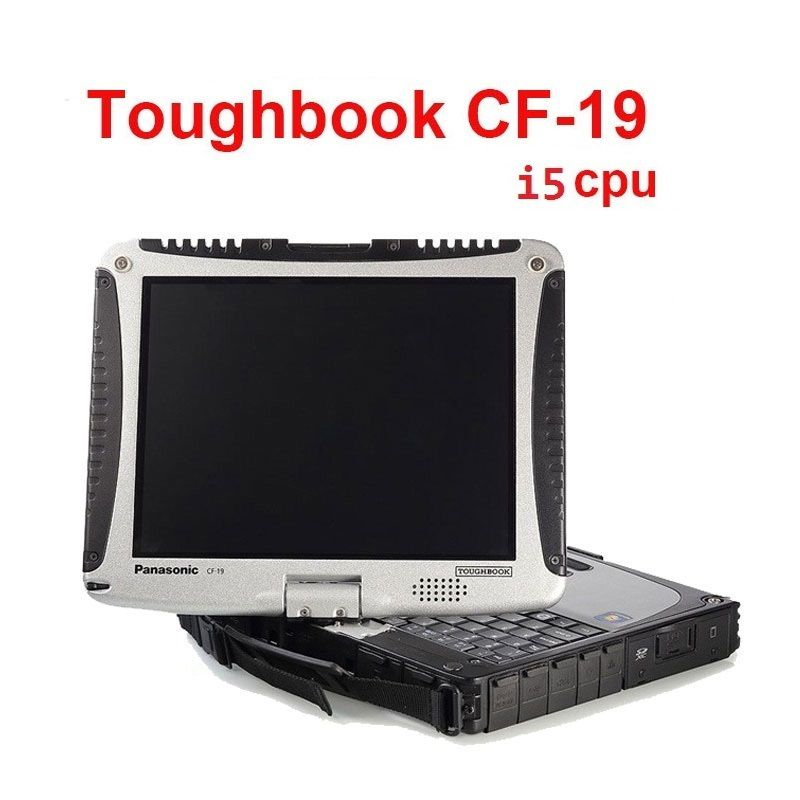 good cpu I5 CF19 laptop for obd 2 scanner tool mb star c4 c5 c3 software 2018.12 HDD SSD for icom tool use CF19 touch screen PC