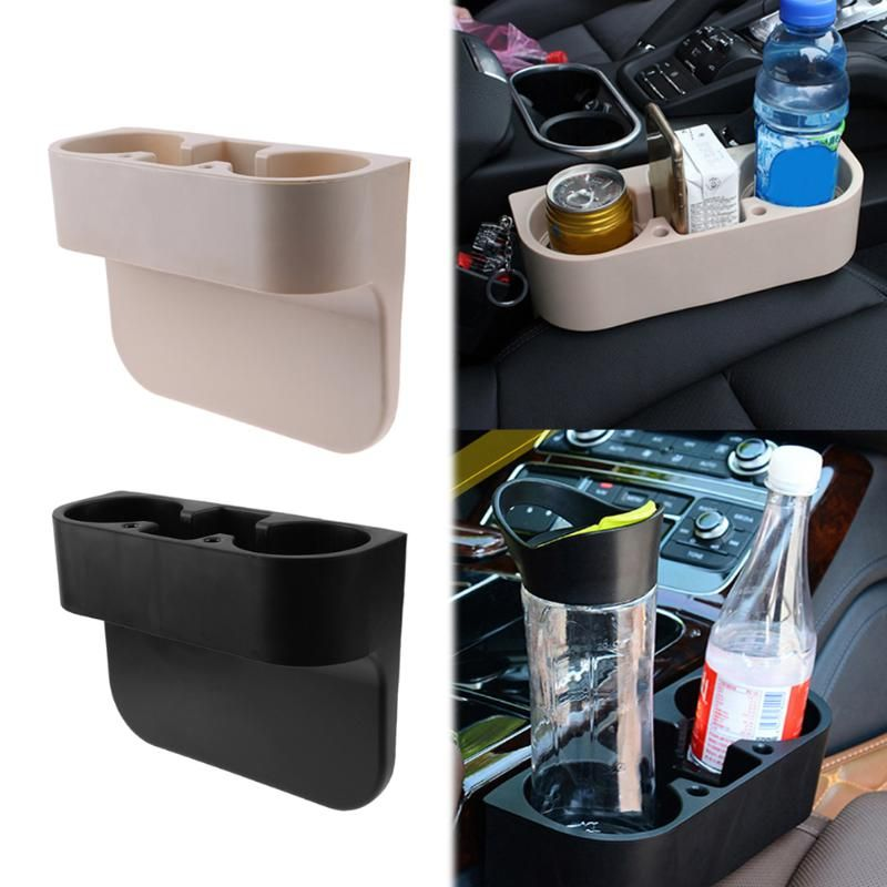 3 in 1 Portable Cup Holder Multi-function Auto Seat Wedge Cup Drink Holder Vehicle Seat Cup Cell Phone Drinks Holder Car Styling
