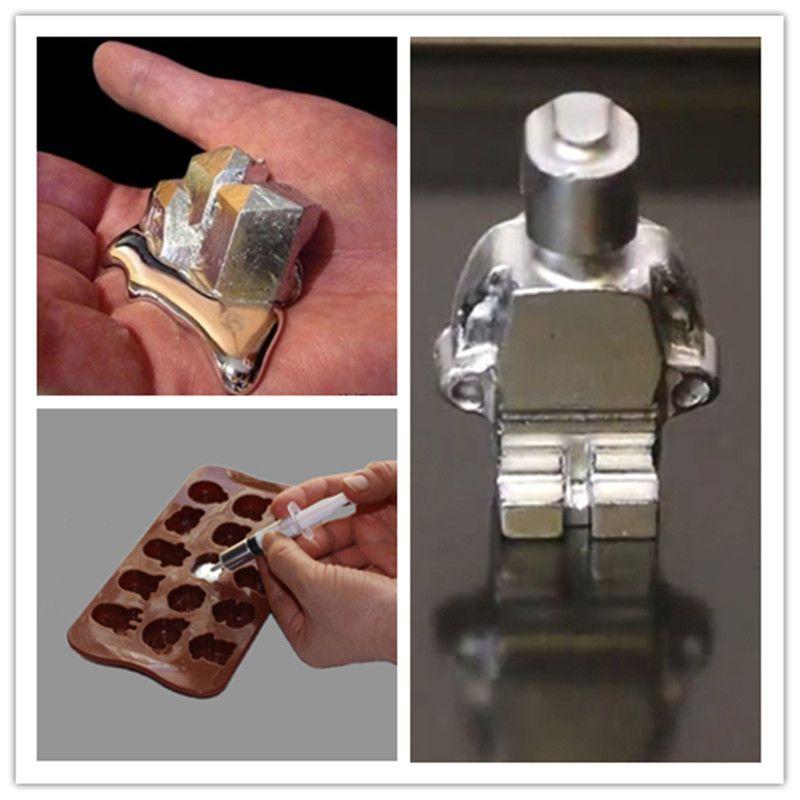 Livraison gratuite Gallium métal 99 99% Purity10g 20g 50g 100g Gallium élément bas Point de fusion métal éducatif magicien bricolage jouet