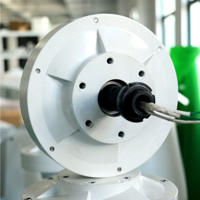 Vertikale Achse Wind Power Generator Maglev Motor Niedrigen drehzahlen 600 W 400 W 12 V 24 V CE Hersteller